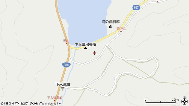 大分県佐伯市蒲江大字竹野浦河内957周辺の地図