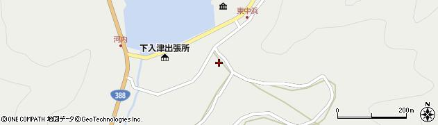 大分県佐伯市蒲江大字竹野浦河内980周辺の地図