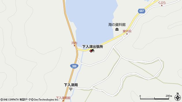 大分県佐伯市蒲江大字竹野浦河内2331周辺の地図