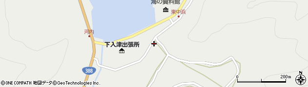 大分県佐伯市蒲江大字竹野浦河内975周辺の地図