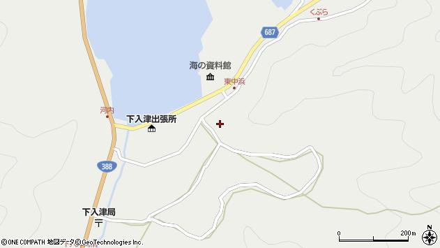 大分県佐伯市蒲江大字竹野浦河内1422周辺の地図