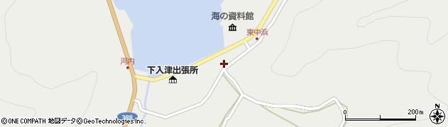 大分県佐伯市蒲江大字竹野浦河内971周辺の地図
