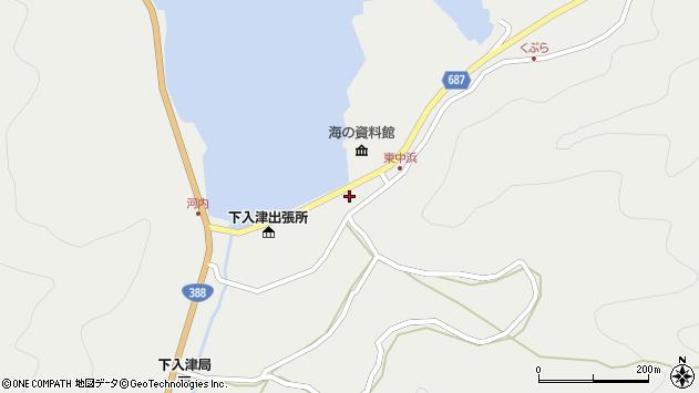 大分県佐伯市蒲江大字竹野浦河内967周辺の地図