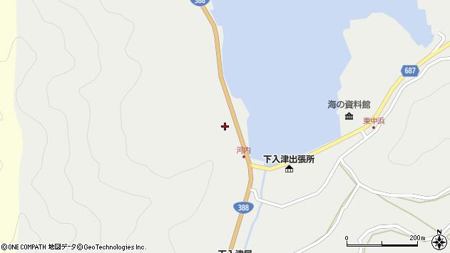 大分県佐伯市蒲江大字竹野浦河内228周辺の地図