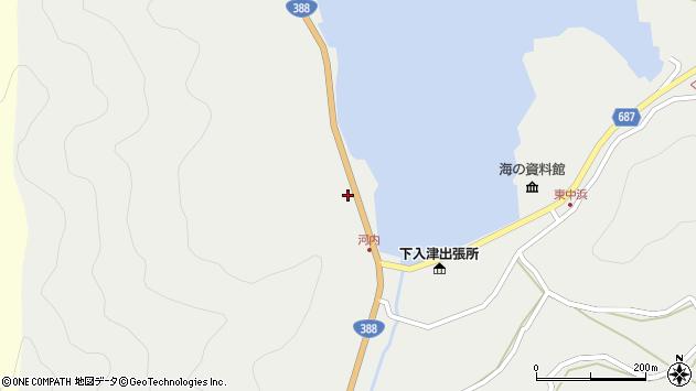 大分県佐伯市蒲江大字竹野浦河内227周辺の地図