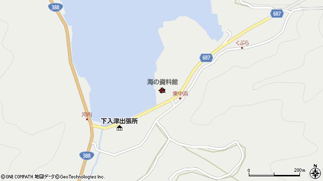 大分県佐伯市蒲江大字竹野浦河内2342周辺の地図