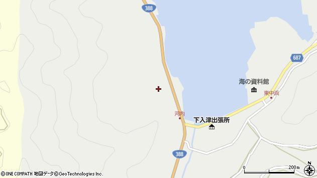 大分県佐伯市蒲江大字竹野浦河内230周辺の地図