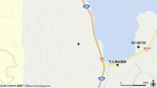 大分県佐伯市蒲江大字竹野浦河内218周辺の地図