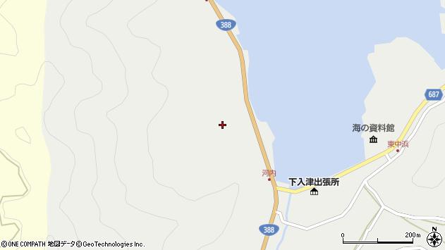 大分県佐伯市蒲江大字竹野浦河内219周辺の地図