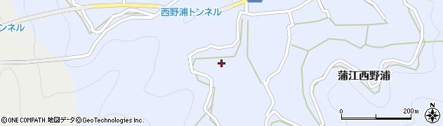 大分県佐伯市蒲江大字西野浦513周辺の地図