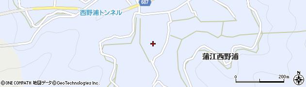 大分県佐伯市蒲江大字西野浦460周辺の地図