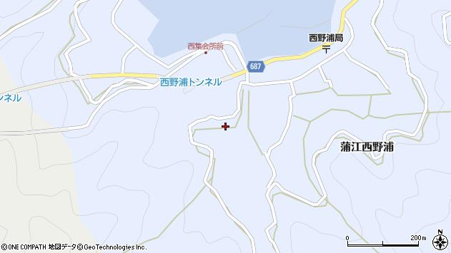 大分県佐伯市蒲江大字西野浦506周辺の地図