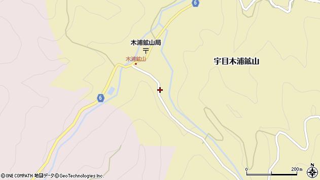 大分県佐伯市宇目大字木浦鉱山397周辺の地図
