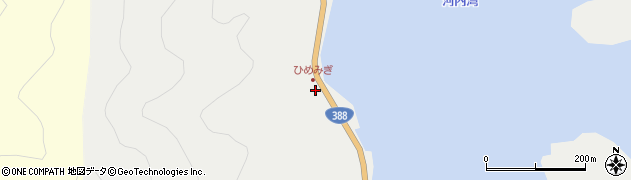大分県佐伯市蒲江大字竹野浦河内116周辺の地図