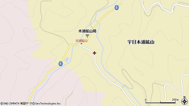 大分県佐伯市宇目大字木浦鉱山428周辺の地図