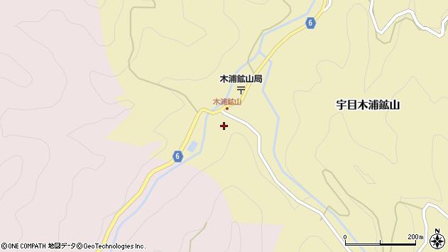 大分県佐伯市宇目大字木浦鉱山457周辺の地図