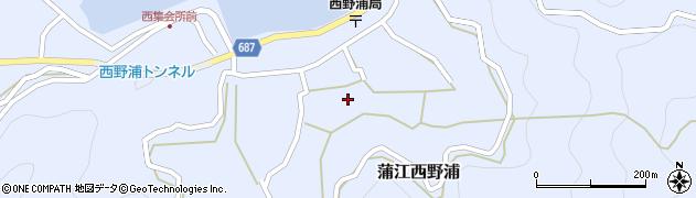 大分県佐伯市蒲江大字西野浦1204周辺の地図