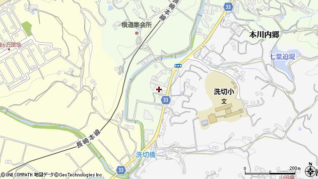 長崎県西彼杵郡長与町本川内郷 地図(住所一覧から検索 ...