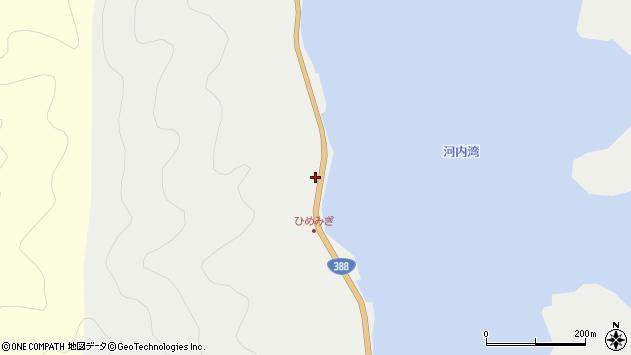 大分県佐伯市蒲江大字竹野浦河内111周辺の地図