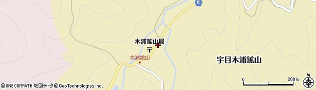 大分県佐伯市宇目大字木浦鉱山398周辺の地図