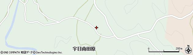 大分県佐伯市宇目大字南田原3049周辺の地図