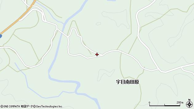大分県佐伯市宇目大字南田原2947周辺の地図