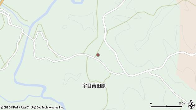 大分県佐伯市宇目大字南田原3134周辺の地図
