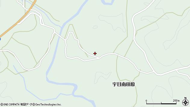 大分県佐伯市宇目大字南田原2926周辺の地図