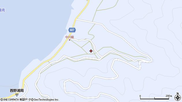 大分県佐伯市蒲江大字西野浦1913周辺の地図