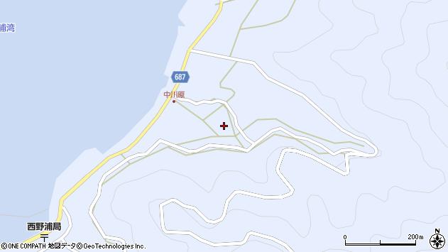 大分県佐伯市蒲江大字西野浦1920周辺の地図