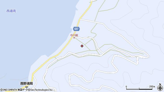 大分県佐伯市蒲江大字西野浦1706周辺の地図