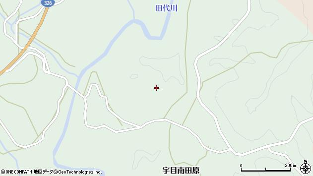 大分県佐伯市宇目大字南田原2862周辺の地図