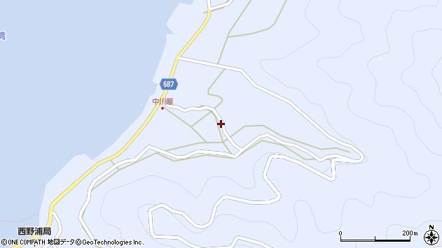 大分県佐伯市蒲江大字西野浦1923周辺の地図