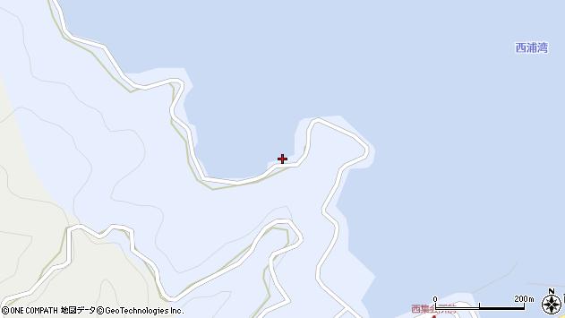 大分県佐伯市蒲江大字西野浦164周辺の地図