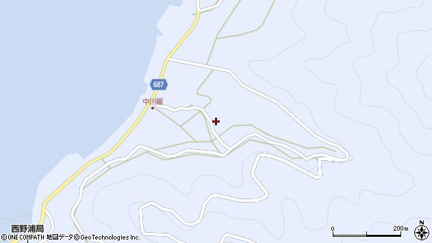 大分県佐伯市蒲江大字西野浦1924周辺の地図