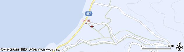大分県佐伯市蒲江大字西野浦1726周辺の地図