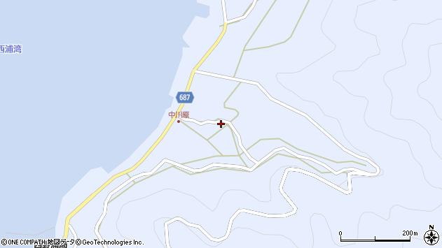 大分県佐伯市蒲江大字西野浦1934周辺の地図