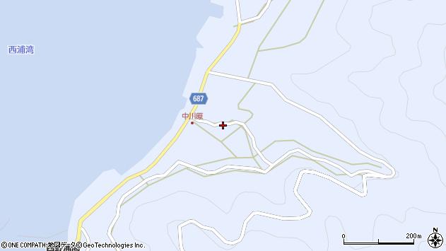 大分県佐伯市蒲江大字西野浦1957周辺の地図