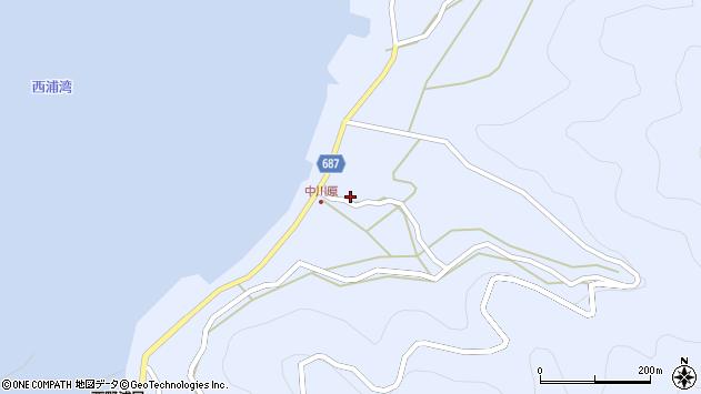 大分県佐伯市蒲江大字西野浦1960周辺の地図