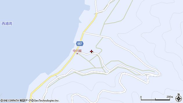 大分県佐伯市蒲江大字西野浦1958周辺の地図