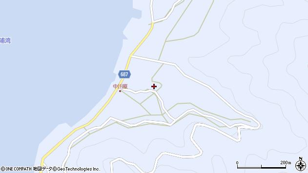 大分県佐伯市蒲江大字西野浦1937周辺の地図