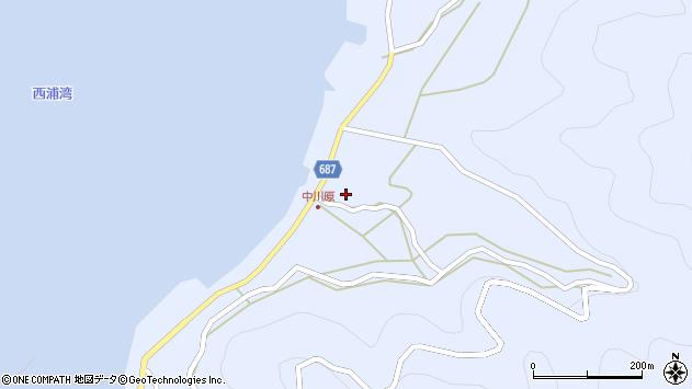 大分県佐伯市蒲江大字西野浦1965周辺の地図