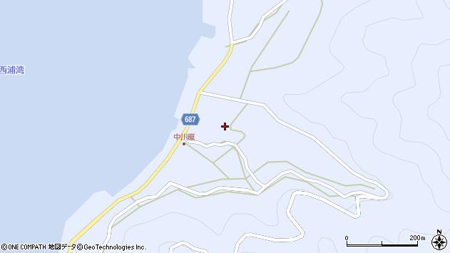 大分県佐伯市蒲江大字西野浦2018周辺の地図
