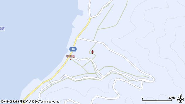 大分県佐伯市蒲江大字西野浦2024周辺の地図