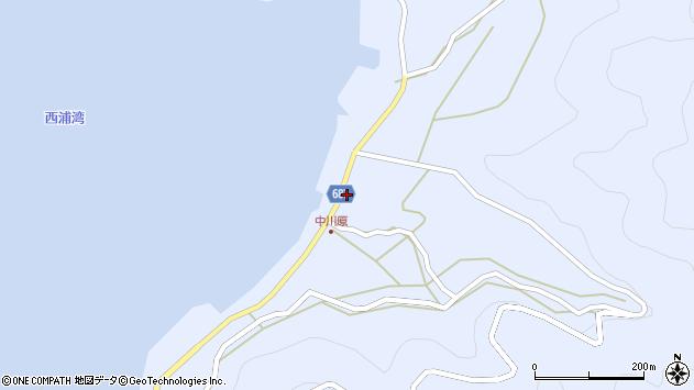 大分県佐伯市蒲江大字西野浦1975周辺の地図