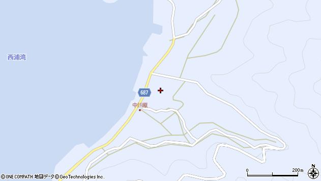 大分県佐伯市蒲江大字西野浦2003周辺の地図