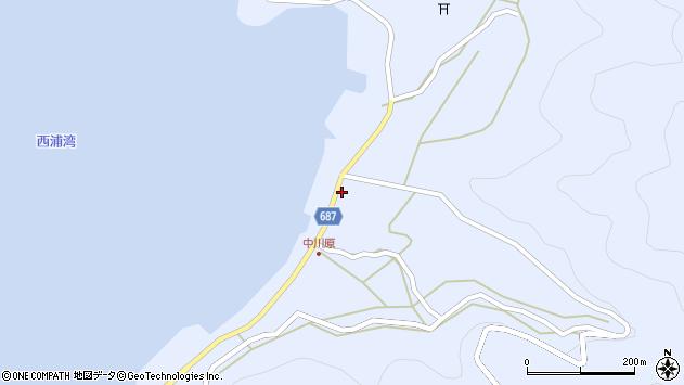 大分県佐伯市蒲江大字西野浦1985周辺の地図