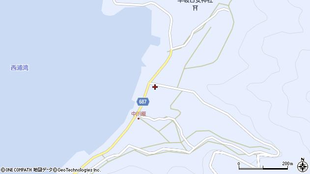 大分県佐伯市蒲江大字西野浦1995周辺の地図