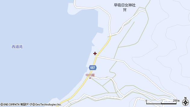 大分県佐伯市蒲江大字西野浦1990周辺の地図