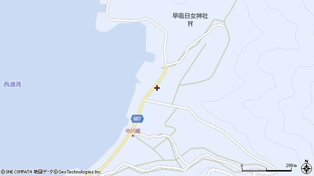 大分県佐伯市蒲江大字西野浦2189周辺の地図
